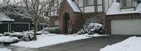 Hus ryddet for sne